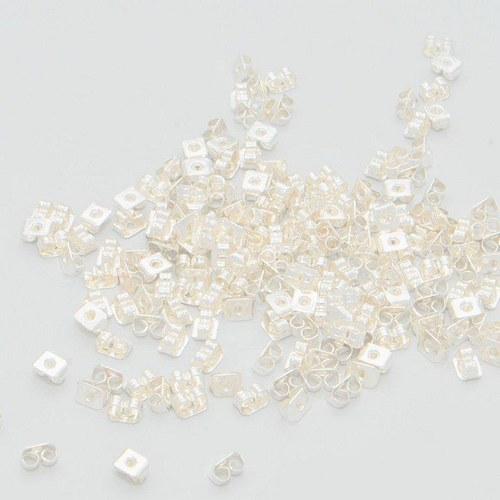 Motýlek - zarážka 20 ks / stříbro