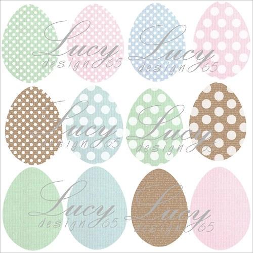 Výseky vajíčko bílé