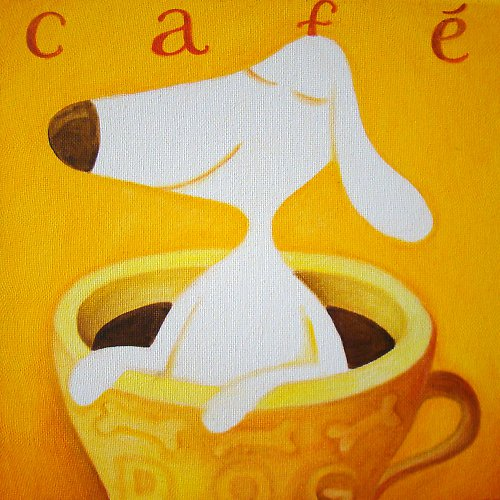 Café dog
