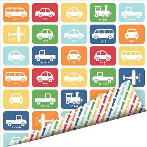 Oboustraný papír Dopravní prostředky