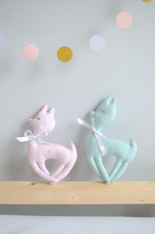 Srneček - hračka - dekorace- polštářek