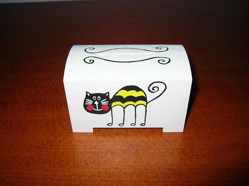 Pokladnička s kočkou