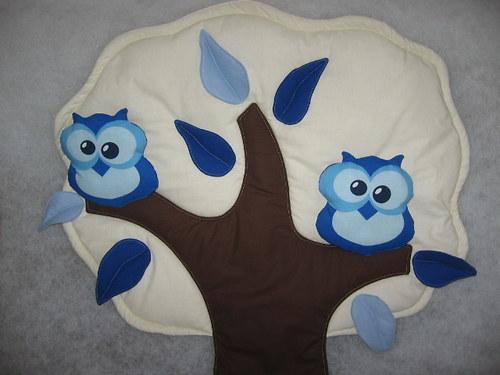 strom - sova modrá