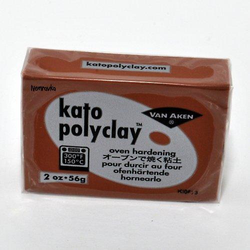 Kato Polyclay / profi polymerová hmota / Hnědá