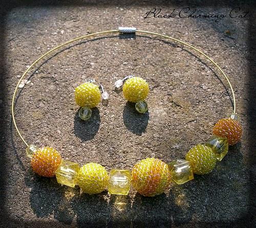 Tropikána - sada šperků