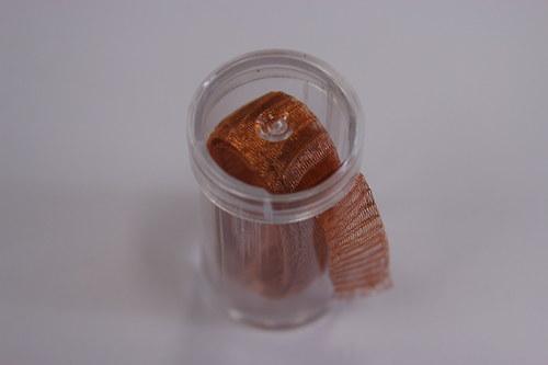 Drátěná dutinka 10-12mm, měděná - 1m