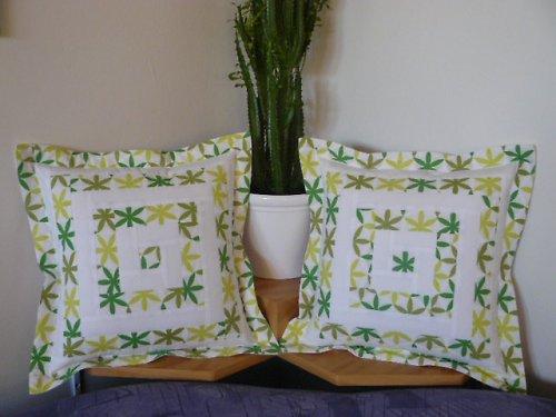 Bílo-zelený srub