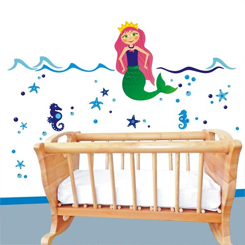 mořská panna Tamiana - samolepka