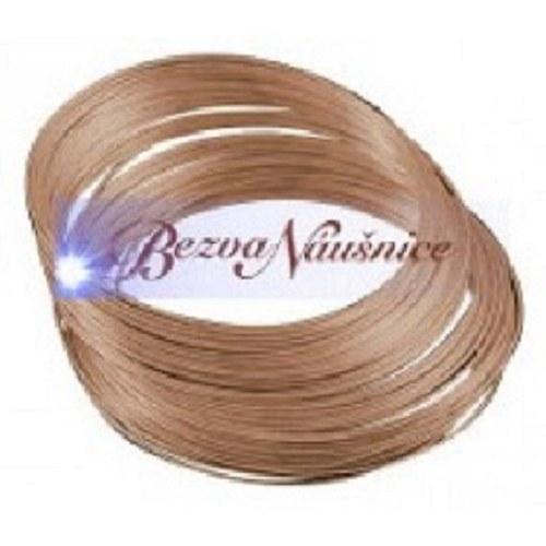 Paměťový drát - náramkový 5,5cm - barva red copper
