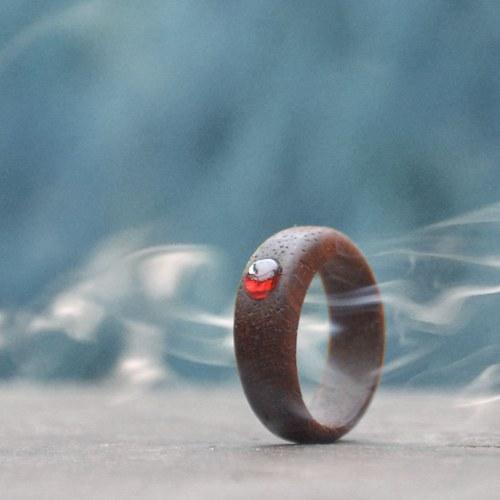 Dřevěný prsten z Avalónu