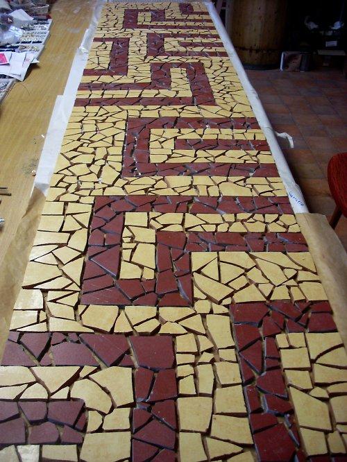 mozaiky na zeď