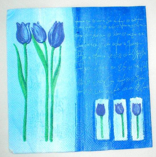 Ubrousek tulipán