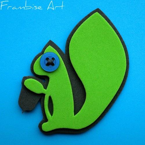 Zeleno šedivá veverka