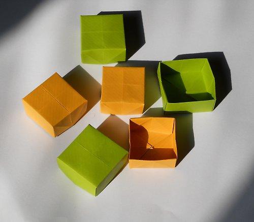 Origami krabička jednoduchá