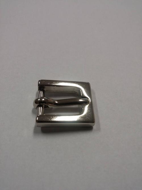 opasková spona, lesklý nikl, 1,0 cm