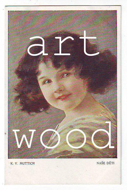 Dobová pohlednice - PORTRÉT DĚVČÁTKA č. 405