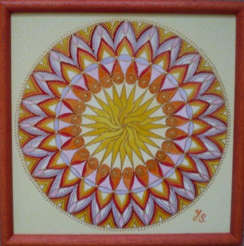 Mandala Slunce