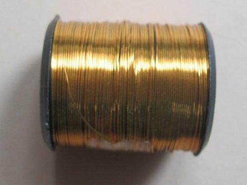 drátek 0,3 mm zlatá barva