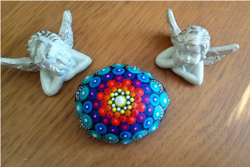 Mandala kámen