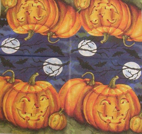 Ubrousek na decoupage - halloween - 33 x 33 cm