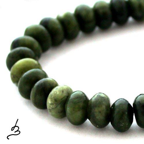 Zelený serpentinit  - rondelka