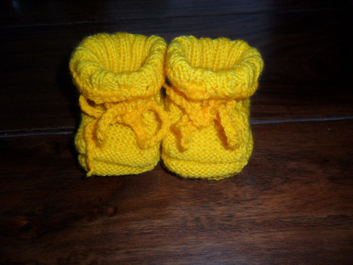 Žluté botičky