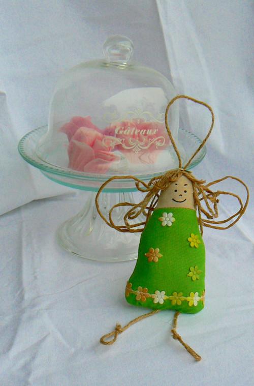 Andělka levandulka - zelená