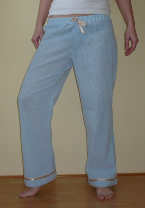 pyžamkové kalhoty
