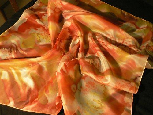 Korálovo - žlutý šátek