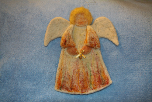 Plstěný anděl