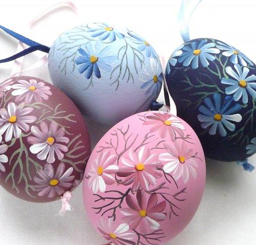 Kraslice - melírované květy I