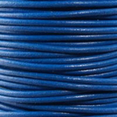kulatá kůže modrá 1 mm