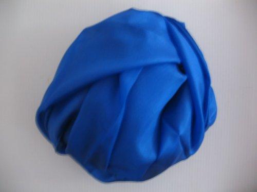 šála 35x130 cm - hedvábí - modrá barva