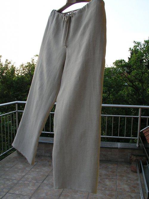 Lněné kalhoty pro pana mlynáře