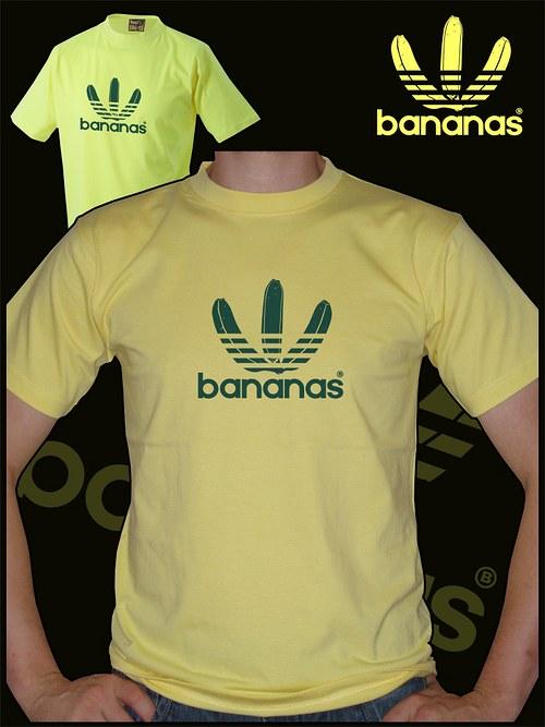 Pánské světle žluté tričko Bananas
