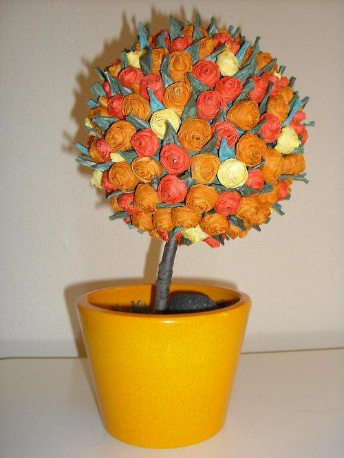 Květinový stromeček