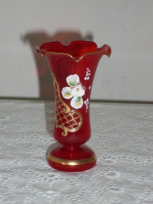 Váza zvonková smalt