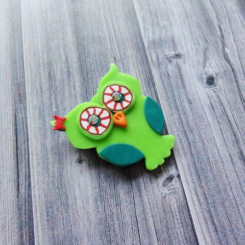 Zelenkavá sovička - VÝPRODEJ