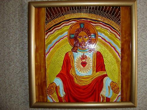 Ježíš-nástěnná malba