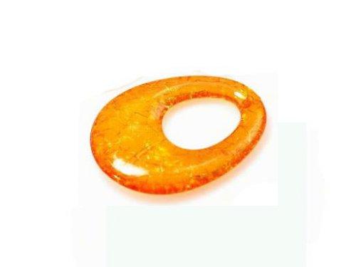 Oranžový oválek