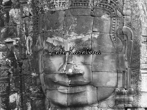 Fotografie Kambodža - Hlava