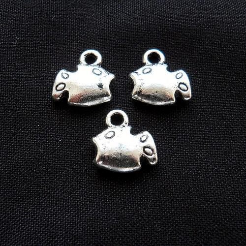 Přívěsek rybička tibetské stříbro - 2 ks