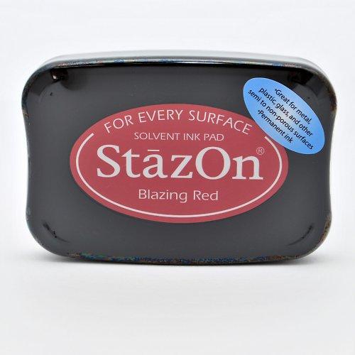 StazOn inkoustový polštářek / vínový