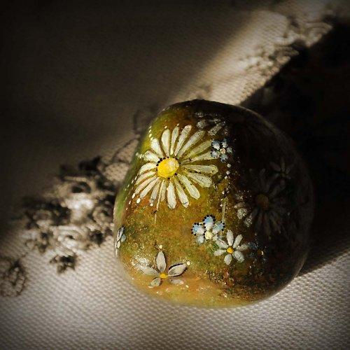 Malovaný kamínek