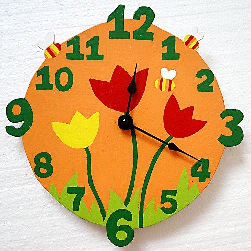 tulipánkové hodiny