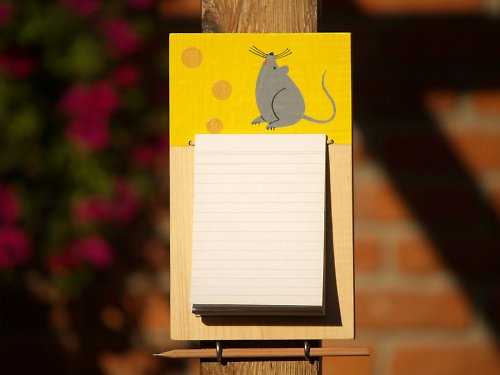Kuchyňský zápisník - myška