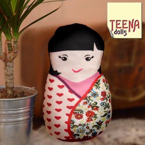 malá panenka kokeshi Tsukiko