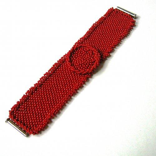 Červená jiřinka