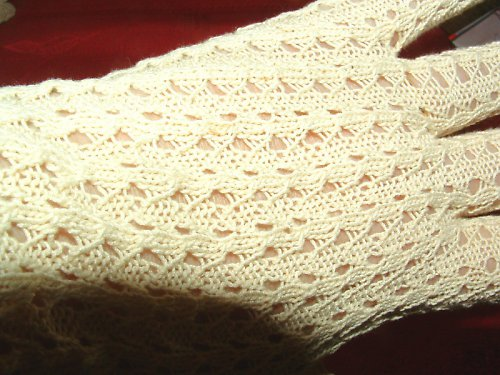 Společenské dámské rukavičky