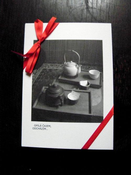 Poetický soubor pohlednic - V TICHU